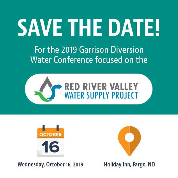 Join Us for Garrison Diversion's 2019 Water Conference Focused on RRVWSP