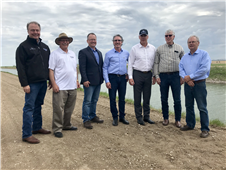 U.S. Interior Secretary Ryan Zinke Visits ND, Discusses RRVWSP